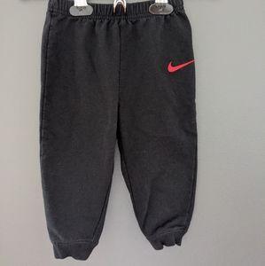 Nike black sweatpants/joggers